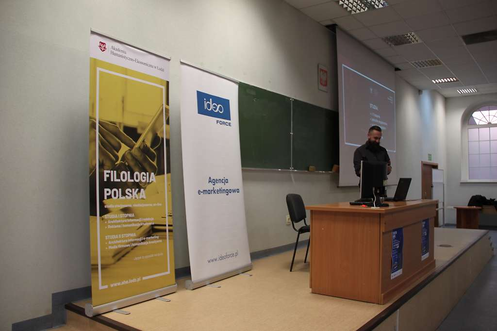 Daniel Kazanecki wykład Łódź